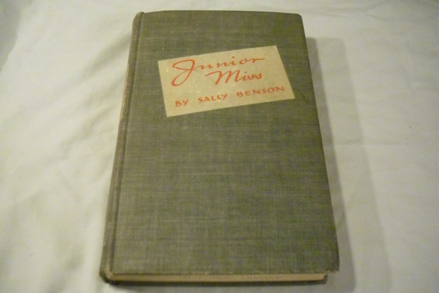 Junior miss by Sally Benson (1941)
