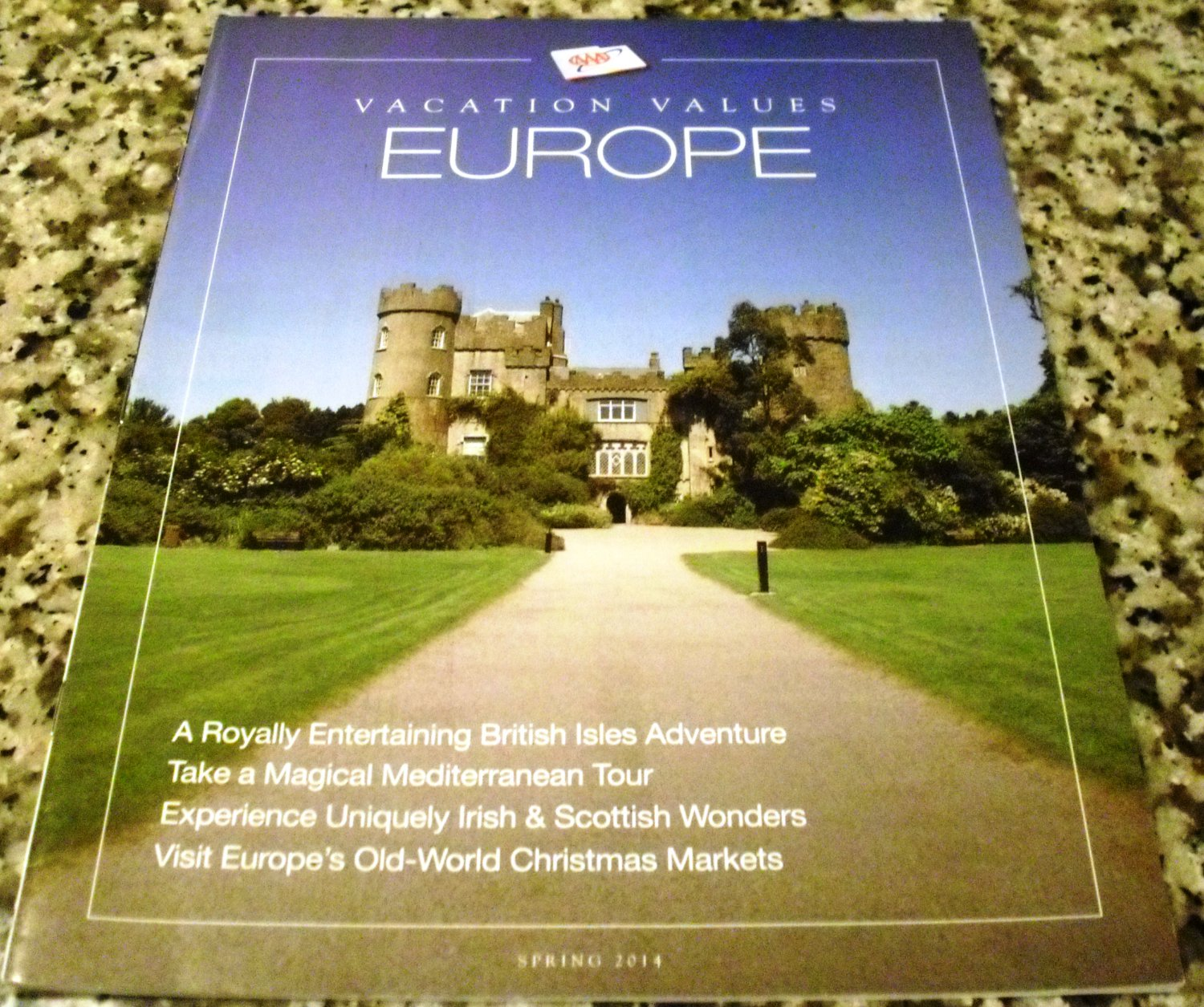 AAA Vacation Value Magazine Spring 2014 (Europe)