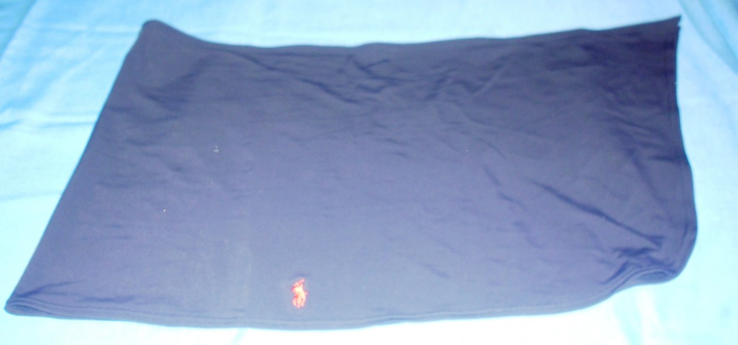 Women's RALPH LAUREN POLO SPORT Navy Blue Sarong Bathing Suit Cover-up - O/S