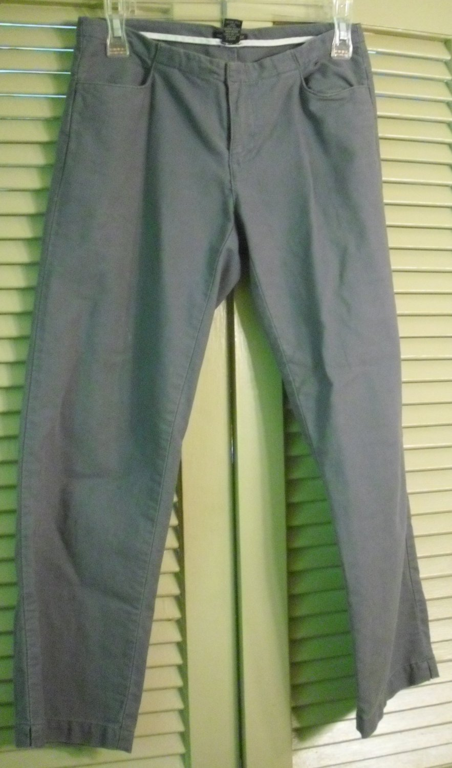 American Eagle Blue Cropped Pants Size 0