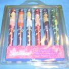 New! Disney Princess Coloring Marker Set - 6 pcs