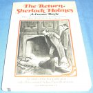 The return of Sherlock Holmes: a facsmile of the first pub