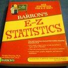E-Z Statistics: Ace Statistics the E-Z Way by Douglas Downing and Jeffrey Clark (Apr 1, 2009)