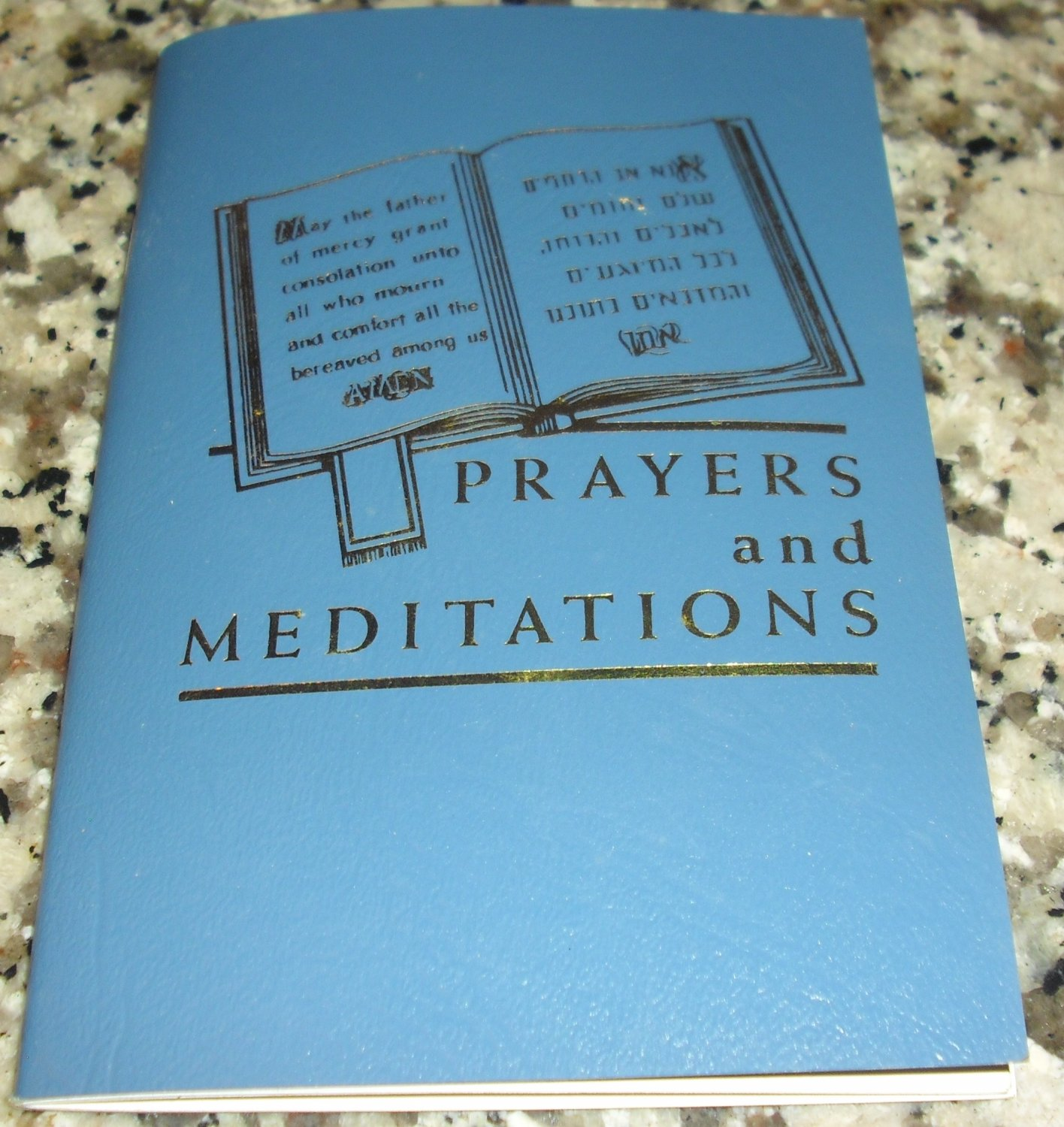 Prayers and Meditations by Goldsteins