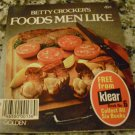 Betty Crocker's FOODS MEN LIKE Paperback – 1976 by Betty Crocker (Author)