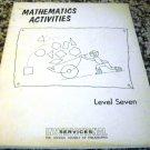 Mathematics Activities Level Seven Instructional Services School District of Phila
