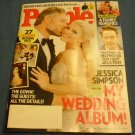 People Magazine July 21, 2014 Jessica Simpson's Wedding