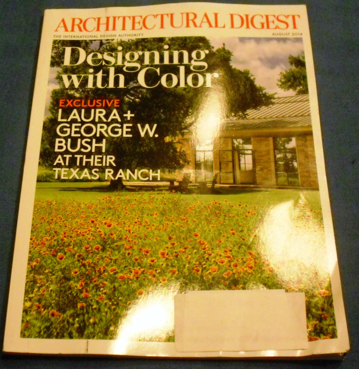 Architectural Digest August 2014 Designing with Color