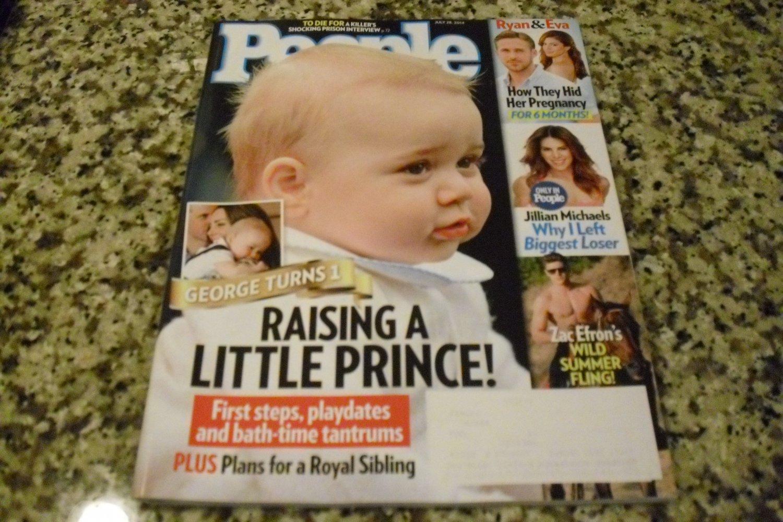 People Magazine July 28, 2014 Prince George