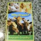 Why Vegan? Boycott Cruelty! Humane League Vegan Outreach Pamphlet