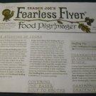 Trader Joe's Fearless Flyer Catalog November 2014 Vol. 8 No. 1