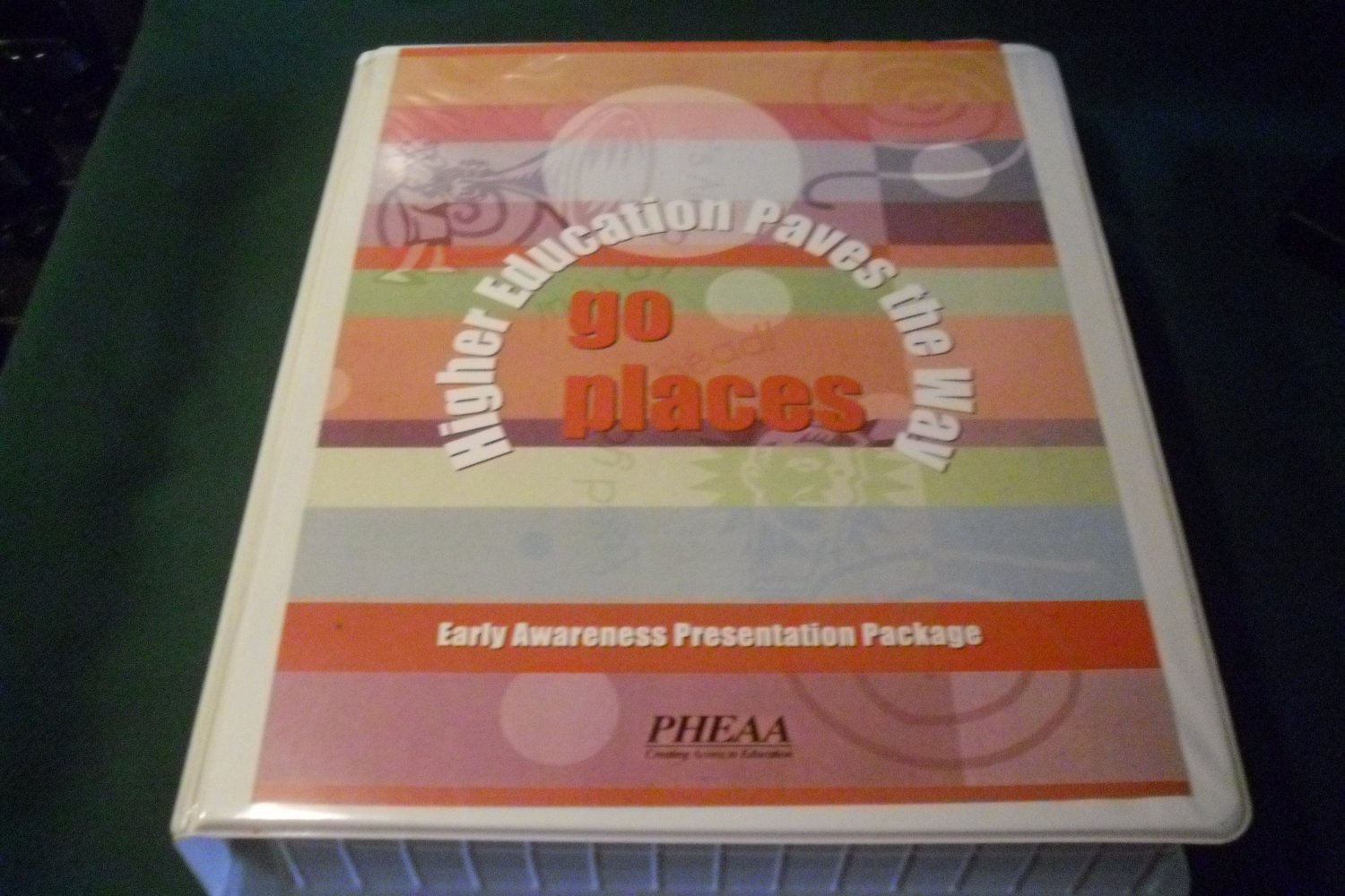 Go Places Higher Education Paves the Way Presentation Manual for School Counselors