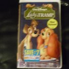 Lady and the Tramp (VHS, 1998, Clam Shell)