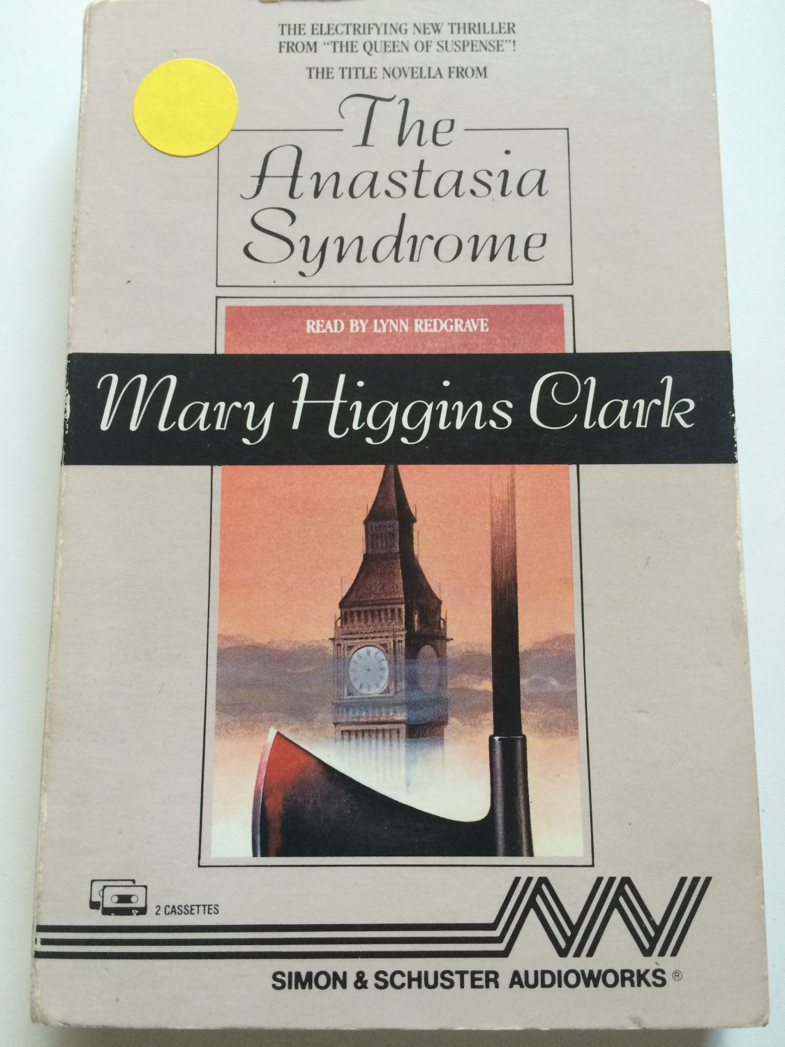 The Anastasia Syndrome and Other Stories by Mary Higgins Clark (1989, Cassette, Abridged)