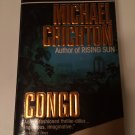 Congo by Michael Crichton (1992, Paperback)