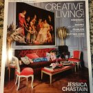 AT HOME WITH JESSICA CHASTAIN Architectural Digest - October 2016