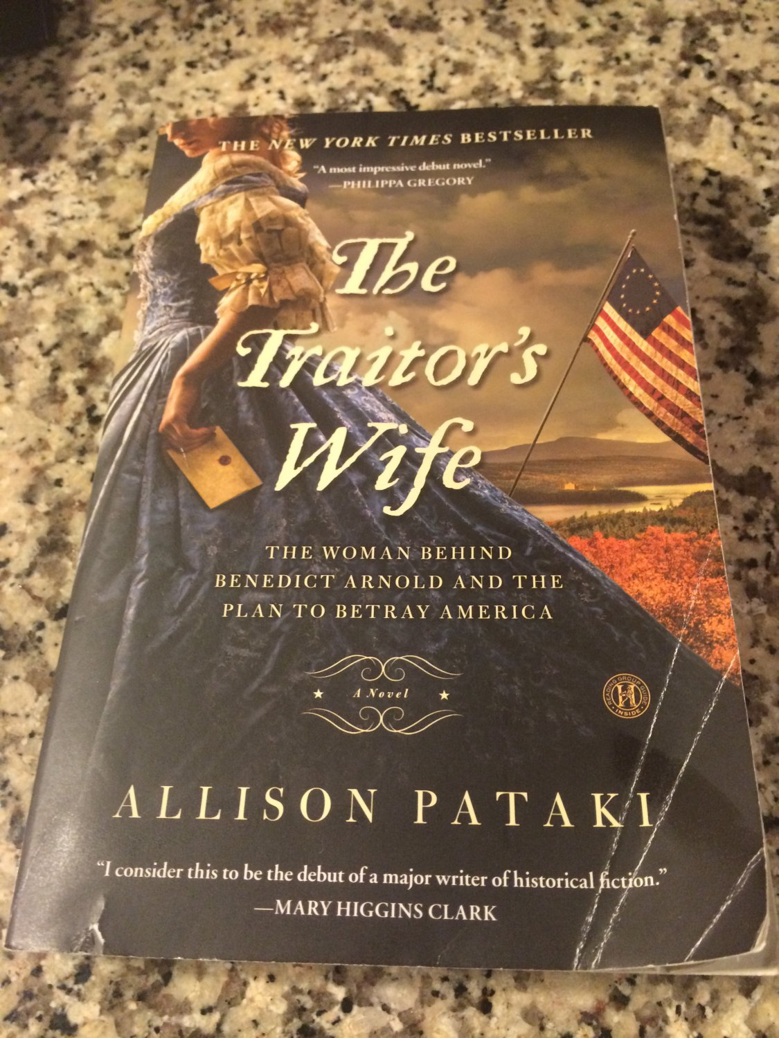 The Traitor's Wife by Allison Pataki (2014, Paperback)