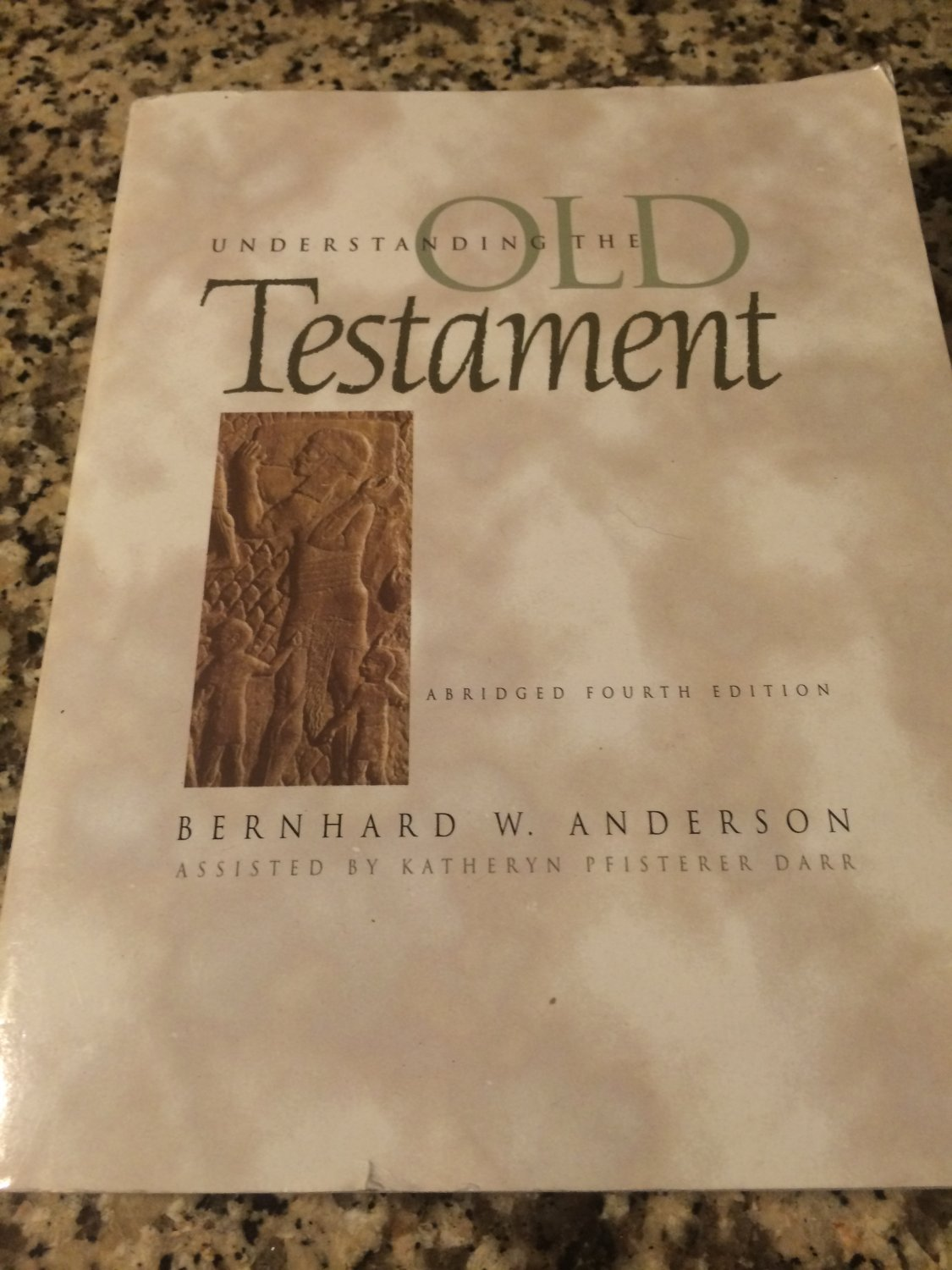 Understanding the Old Testament by Bernhard W. Anderson & Katheryn Pfisterer Darr (1997, Paperback)