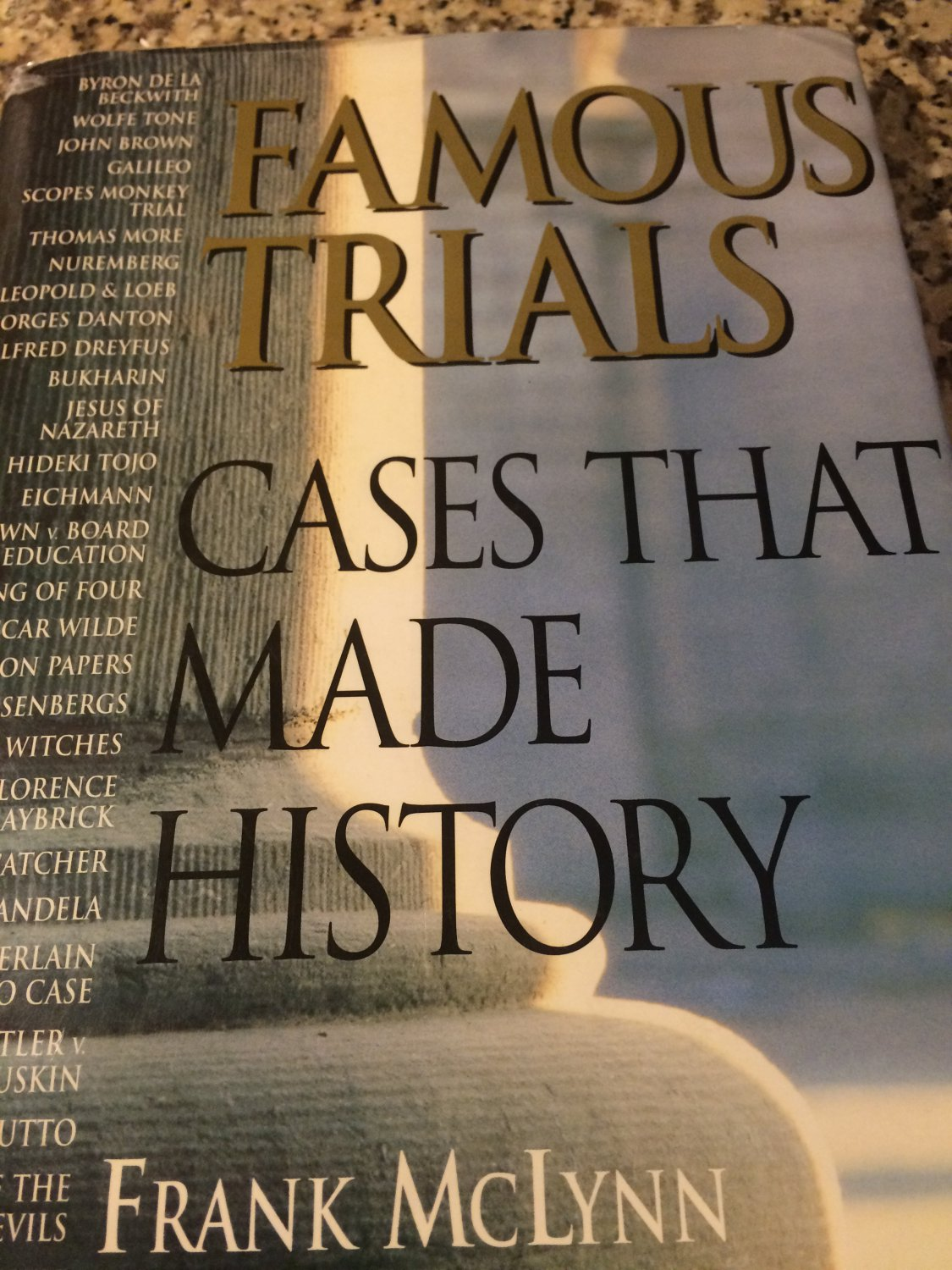 Famous Trials : Cases That Made History by Frank McLynn (1995, Hardcover)
