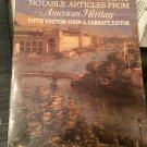 """Historical Viewpoints: To 1877 v. 1: Notable Articles from """"American Heritage"""" by Garraty, John A."""