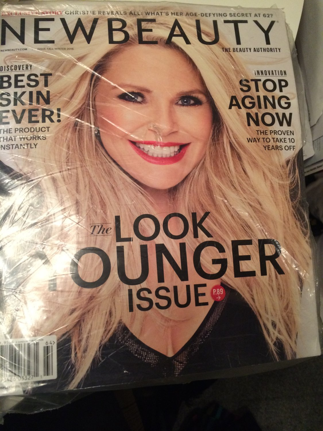New Beauty Magazine Fall Winter 2016 - The Look Younger Issue (Christie Brinkley Cover)