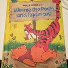Winnie the Pooh and Tigger Too (Disney's Wonderful World of Reading) [Jan 27, 1976] Disney Book Club