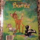 The Bambi Book By Walt Disney (Paperback)