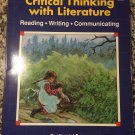 Critical Thinking with Literature (Blue Book) [Paperback] [Jan 01, 1992] Dorothy Kauffman