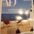Architectural Digest Magazine June 2017 | Summer Escapes