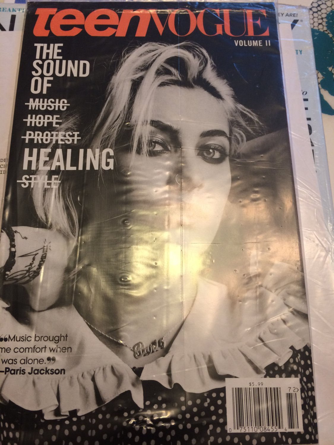 Teen Vogue Volume II Paris Jackson - The Sound of Healing