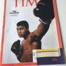 Time Magazine, June 20, 2016 Muhammad Ali The Greatest Comemorative Issue