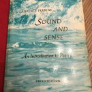 Sound and Sense: An Introduction to Poetry 1969 by Laurence Perrine