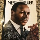 The New Yorker Magazine (January 16, 2017) Martin Luther King, Jr. Cover