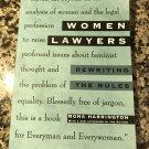 Women Lawyers: Rewriting the Rules [paperback] Harrington, Mona [1995]