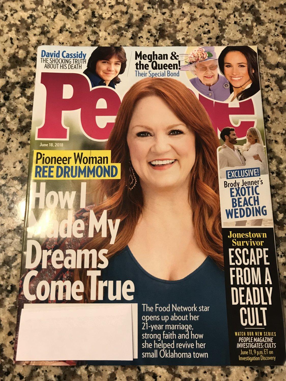 People Magazine (June 18, 2018) Pioneer Woman Ree Drummond Cover