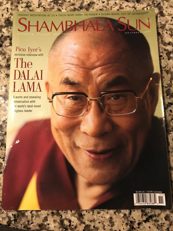 SHAMBHALA SUN November 2001 The Dalai Lama
