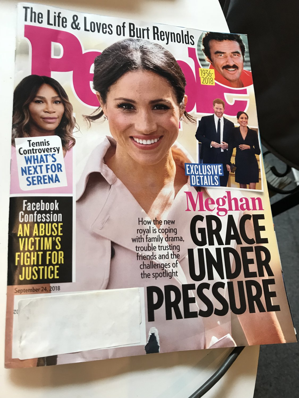 People Magazine ~ September 24, 2018 ~ Meghan Grace Under Pressure