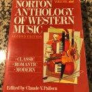 Norton Anthology of Western Music Volume 2, Jul 1988 by Claude Palisca
