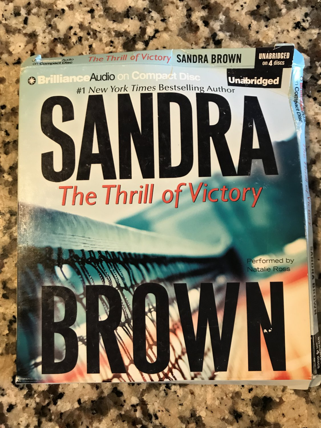 The Thrill of Victory [audio CD] Brown, Sandra,Ross, Natalie [Oct 01, 2013]