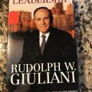 Leadership [cassette] Rudolph W. Giuliani,Tony Roberts [Jun 01, 2002] …