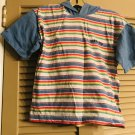 GAP Girls/Boys 100% Cotton Tee with Hood Striped Size Large L Item No: 3708