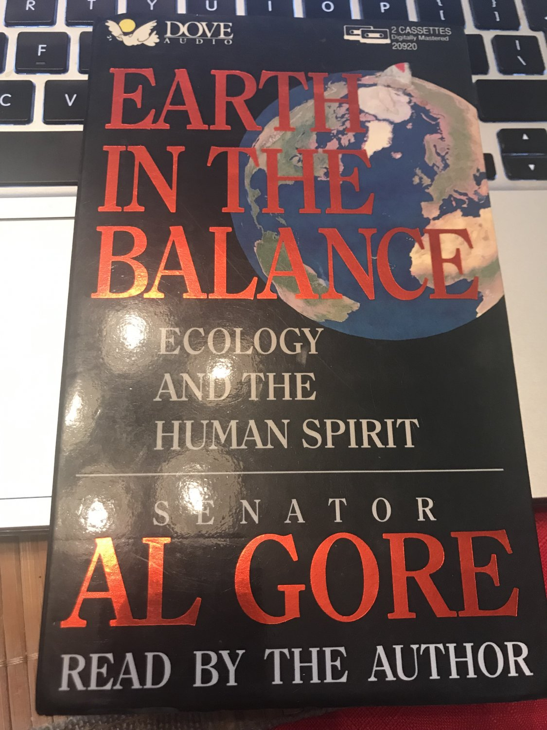 Earth in the Balance Audio, Cassette � 1992 by Al Gore  (Author)
