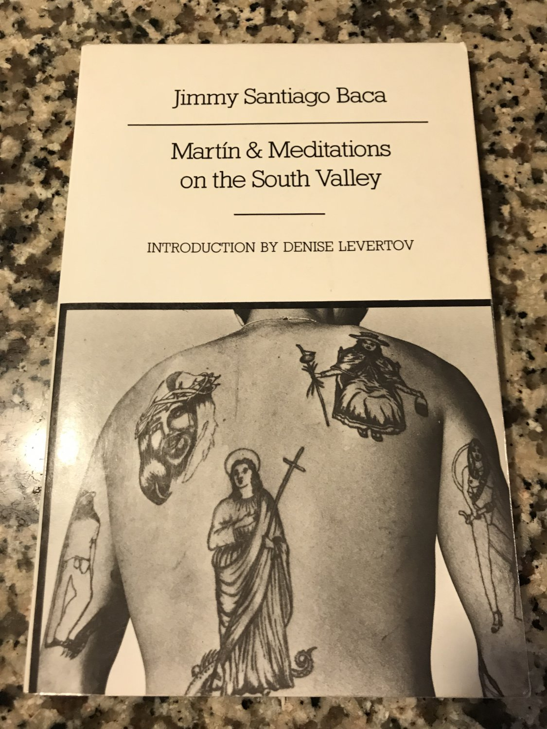 Martín and Meditations on the South Valley: Poems [paperback] Baca, Jimmy Santiago [1987]