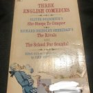 Three English Comedies Paperback – 1970 by John Bettenbender (Author)