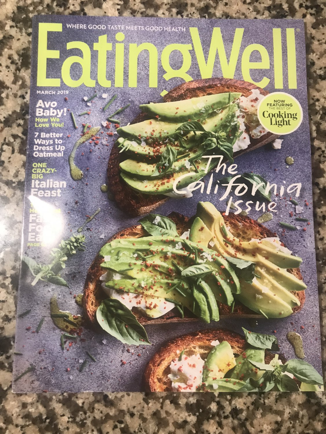 Eating Well March 2019: The California Issue