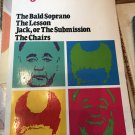 Four Plays: The Bald Soprano; The Lesson; Jack, the Submission [paperback] Eugene Ionesco 1982