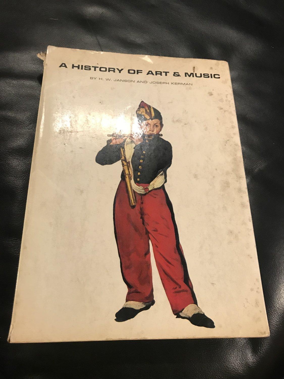 A History of Art and Music Edition Unstated Edition by H. W. Janson