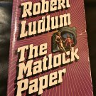 The Matlock Paper Mass Market Paperback – April 15, 1974 by Robert Ludlum