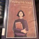 Finding My Voice Hardcover – October 1, 1992 by Marie G. Lee