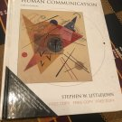 Theories of Human Communication 5th Edition by Stephen W. Littlejohn